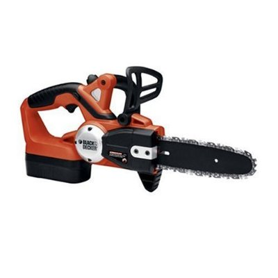 Cordless chainsaw black and decker
