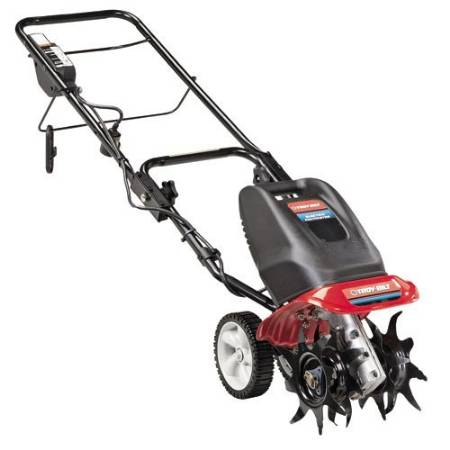 Best garden tiller: front tine electric model