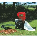 Earthquake chipper shredder with vacuum kit