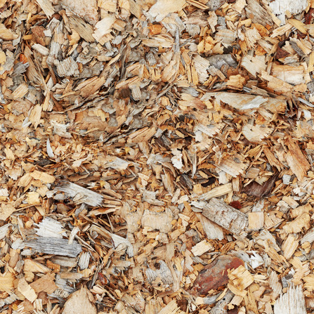 garden chipper shredder- wood chips