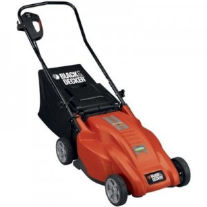 Best electric lawn mower - Black and Decker model