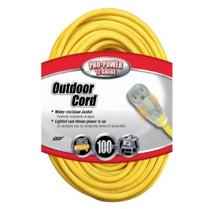 Best electric lawn mower cord 12 gauge 100 feet
