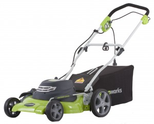 Best electric lawn mower:  Greenworks model