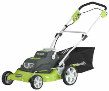 Cordless lawn mower from Greenworks