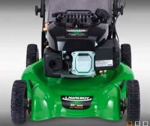 Lawn Boy mowers: Lawn Boy 10606 showing deep dome deck