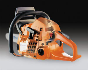 Husqvarna 450 chainsaw low vibration system