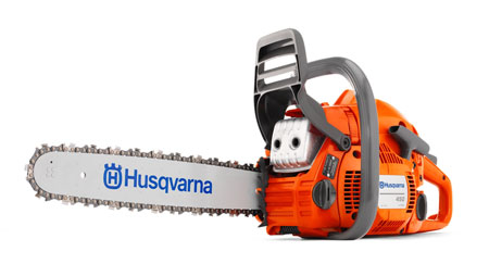 Husqvarna 450 18 inch bar and chain