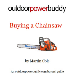 Buying chainsaw - chainsaw buyers guide