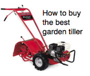 Best garden tiller resource page ad