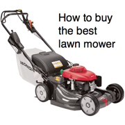 how to buy the best lawn mower - Honda image